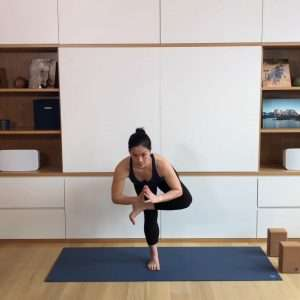 Integrate the Hips in Standing Balance Poses